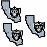 Las Vegas Raiders Home State Decal - 3 Pack