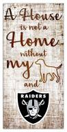 Las Vegas Raiders House is Not a Home Sign
