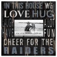 """Las Vegas Raiders In This House 10"""" x 10"""" Picture Frame"""