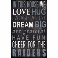 Las Vegas Raiders In This House Sign