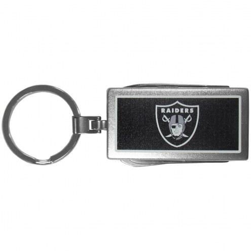 Las Vegas Raiders Logo Multi-tool Key Chain
