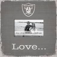 Las Vegas Raiders Love Picture Frame