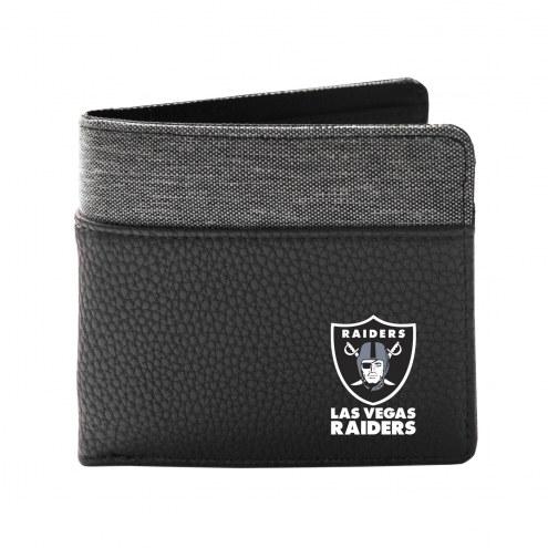 Las Vegas Raiders Pebble Bi-Fold Wallet