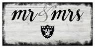 Las Vegas Raiders Script Mr. & Mrs. Sign