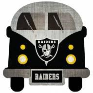Las Vegas Raiders Team Bus Sign