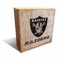 Las Vegas Raiders Team Logo Block