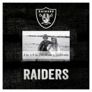 "Las Vegas Raiders Team Name 10"" x 10"" Picture Frame"