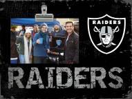 Las Vegas Raiders Team Name Clip Frame