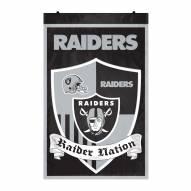 Las Vegas Raiders Team Shield Banner