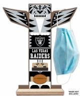 Las Vegas Raiders Totem Mask Holder