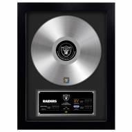 Las Vegas Raiders Vinyl Gold Record