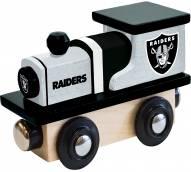 Las Vegas Raiders Wood Toy Train