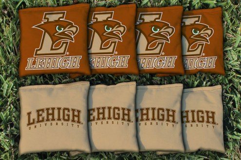 Lehigh Mountain Hawks Cornhole Bag Set