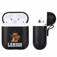 Lehigh Mountain Hawks Fan Brander Apple Air Pods Leather Case