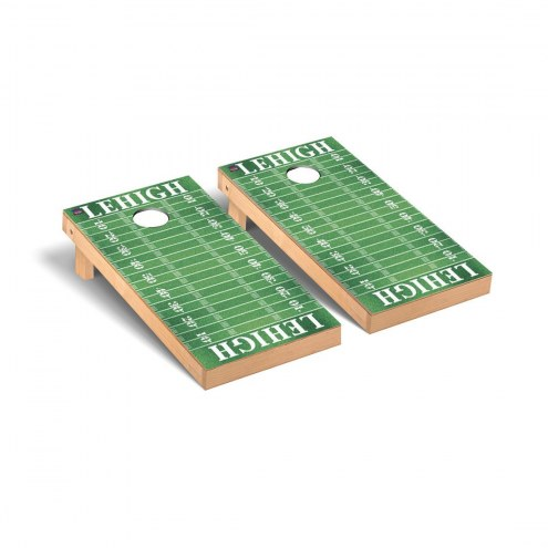 Lehigh Mountain Hawks Football Field Cornhole Game Set