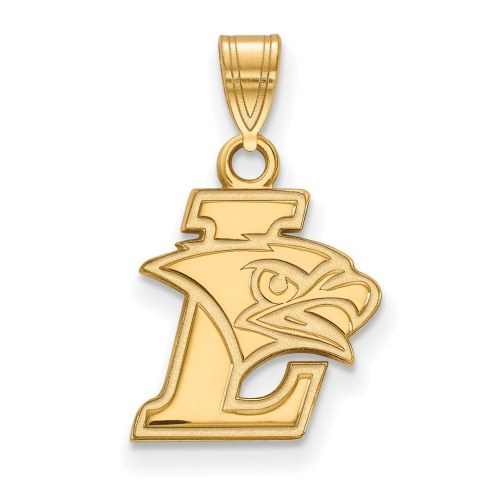 Lehigh Mountain Hawks NCAA Sterling Silver Gold Plated Small Pendant