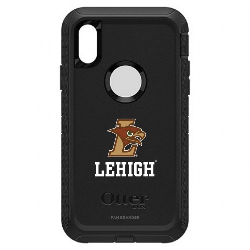 Lehigh Mountain Hawks OtterBox iPhone XR Defender Black Case