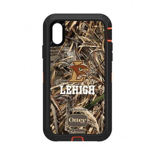 Lehigh Mountain Hawks OtterBox iPhone XR Defender Realtree Camo Case