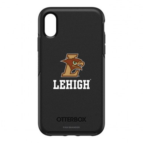 Lehigh Mountain Hawks OtterBox iPhone XR Symmetry Black Case