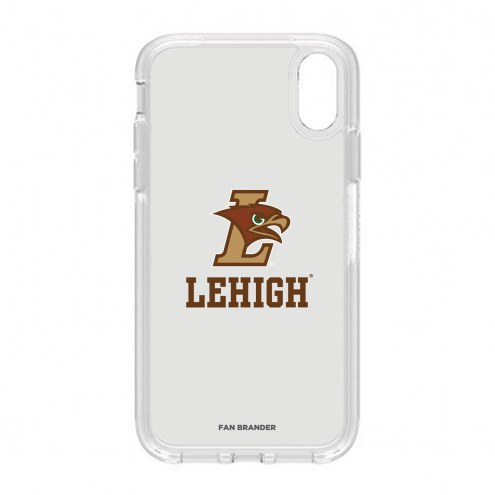 Lehigh Mountain Hawks OtterBox iPhone XR Symmetry Clear Case