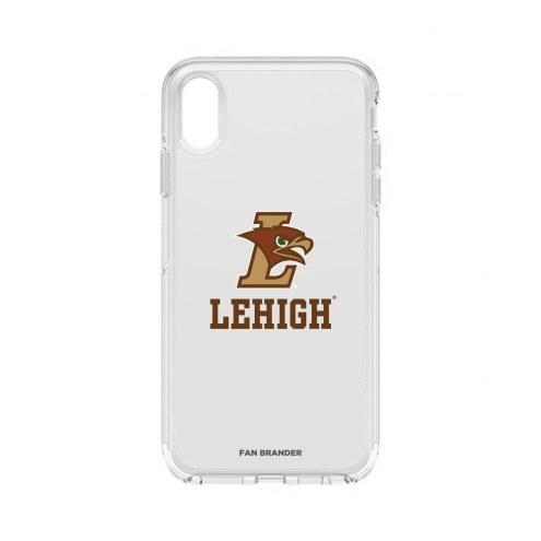 Lehigh Mountain Hawks OtterBox iPhone XS Max Symmetry Clear Case