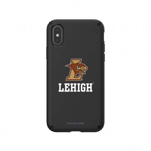 Lehigh Mountain Hawks Speck iPhone X/Xs Presidio Pro Black Case
