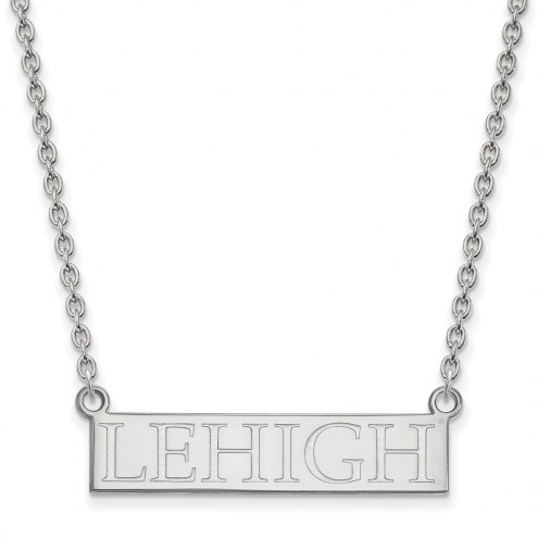 Lehigh Mountain Hawks Sterling Silver Large Pendant Necklace