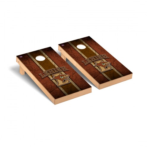 Lehigh Mountain Hawks Vintage Wooden Cornhole Game Set