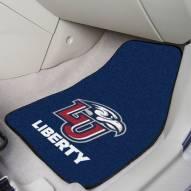 Liberty Flames 2-Piece Carpet Car Mats