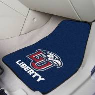 Liberty Flames 2-Piece Carpet Car Mats