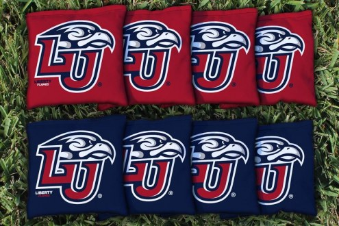 Liberty Flames Cornhole Bag Set