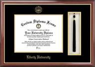 Liberty Flames Diploma Frame & Tassel Box