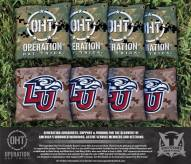 Liberty Flames Operation Hat Trick Cornhole Bag Set