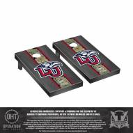 Liberty Flames Operation Hat Trick Onyx Stained Cornhole Game Set