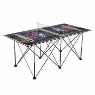 Liberty Flames Pop Up 6' Ping Pong Table
