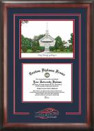 Liberty Flames Spirit Diploma Frame with Campus Image