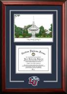 Liberty Flames Spirit Graduate Diploma Frame