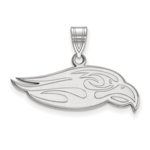 Liberty Flames Sterling Silver Large Pendant