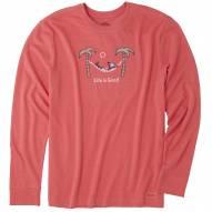 Life is Good Jake Hammock Chill Crusher Men's Long Sleeve Shirt