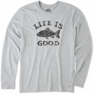Life is Good LIG Fish Crusher Men's Long Sleeve Shirt