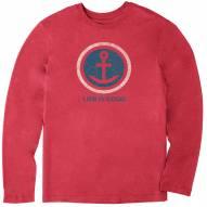 Life is Good Men's Anchor Coin Long Sleeve Cool Shirt