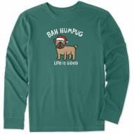 Life is Good Men's Bah Humpug Long Sleeve Crusher Shirt