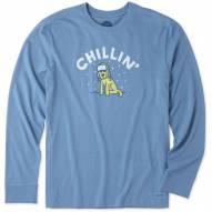 Life is Good Men's Chillin' Rocket Crusher Long Sleeve Shirt