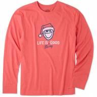 Life is Good Men's Life is Merry Good Crusher Long Sleeve Shirt