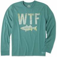Life is Good Men's Where's The Fish Crusher Long Sleeve Shirt