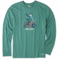 Life is Good Mow Town Crusher Men's Long Sleeve Shirt