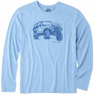 Life is Good Off-Road Beach Men's Long Sleeve Cool Shirt