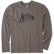 Life is Good Recharging Station Crusher Men's Long Sleeve Shirt