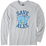 Life is Good Save the Ales Crusher Men's Long Sleeve Shirt