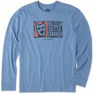 Life is Good Straight Outta Rescue Crusher Men's Long Sleeve Shirt